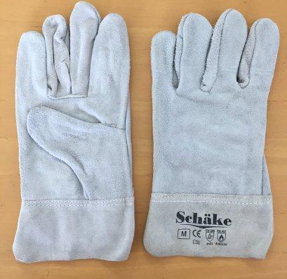 ถุงมือหนังท้องยาว 14 นิ้ว บุซับใน Schake(copy)