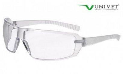 แว่นตานิรภัยเลนส์ใสUNIVET553Z01.00.00