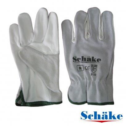 Schake ถุงมือหนังอาร์กอน