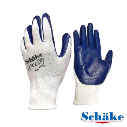 Schake Nylon Glove with Nitrile Latex