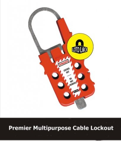 PREMIER MULTIPURPOSE CABLE LOCKOUT