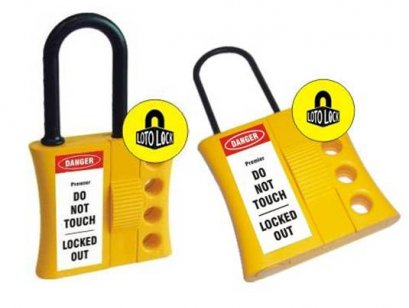 FLEXIBLE LOCKOUT DE ELECTRIC HASP