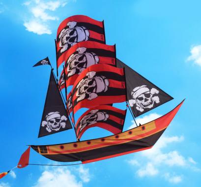 ว่าวเรือโจรสลัด 3D