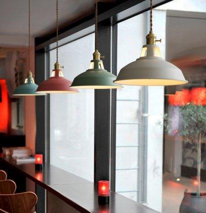 PENDANT โคมไฟแขวนเพดาน รุ่น COLORFUL  EVE-00346 ( 1 เซ็ท ได้ 3 โคม )