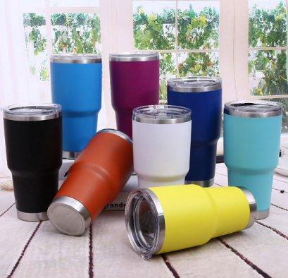 แก้วเก็บความเย็น,แก้วทรงเยติ,แก้วสแตนเลสเก็บความเย็น