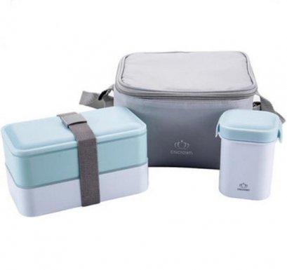 กล่องใส่อาหาร,กล่องข้าว,พร้อมกระเป๋าเก็บความร้อน