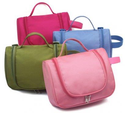 กระเป๋าใส่เครื่องสำอาง,แบบมีที่หิ้ว,กระเป๋าผู้หญิง