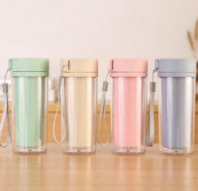 แก้วน้ำฟางข้าวสาลี,แก้วจากวัสดุธรรมชาติ,แก้วน้ำรักษ์โลก