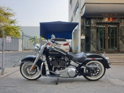 "FLDE 107 "" SOFTAIL DELUXE 2019"" US SPEC"