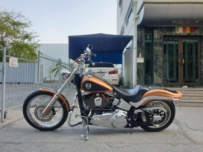 "FXSTC "" SOFTAIL CUSTOM 2008 105TH ANNIVERSARY """