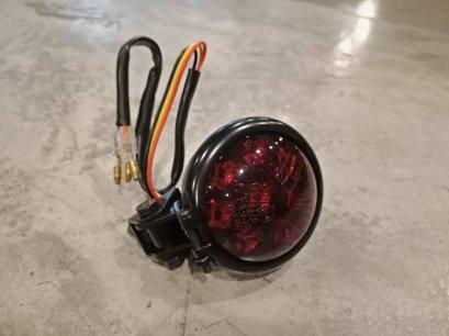 ไฟท้าย Round LED Red Lens