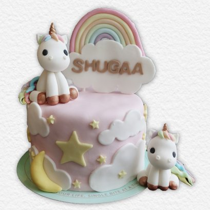 เค้กโพนี่ เค้กการ์ตูน เค้กวันเกิดเด็ก เค้กวันเกิดเด็กผู้หญิง เค้กด่วน