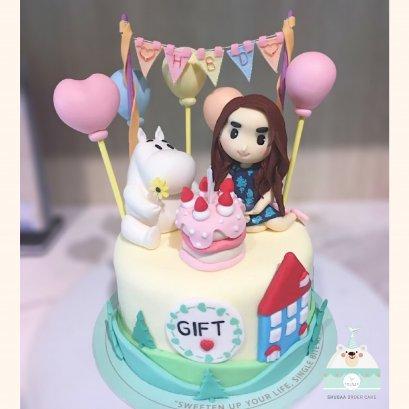 เค้กมูมิน - Moomin Cake