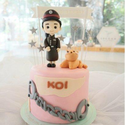 เค้กตำรวจ - Police Cake