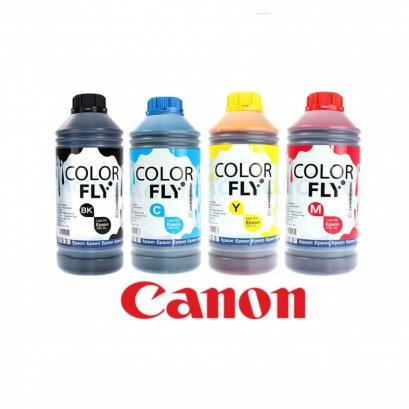 หมึกเติม Canon ขนาด 1000 ml (Color Fly)