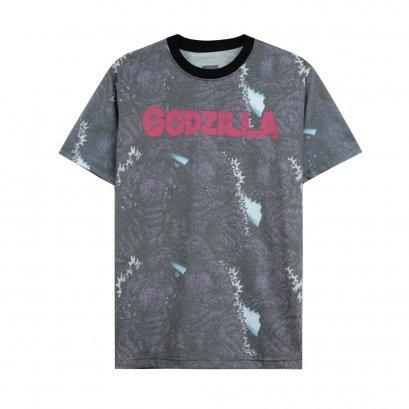 ก็อตซิลลา เสื้อยืดลิขสิทธิ์ คอกลม แขนสั้น (0320-704)