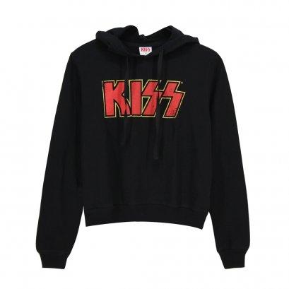 KISS เสื้อฮู้ดผู้หญิงแขนยาว(1019F-391)