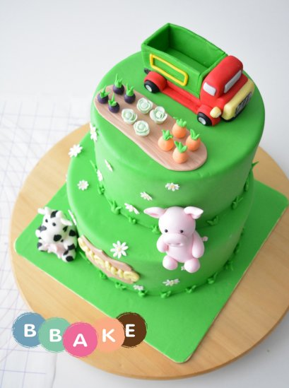 Basic Fondant with Animal