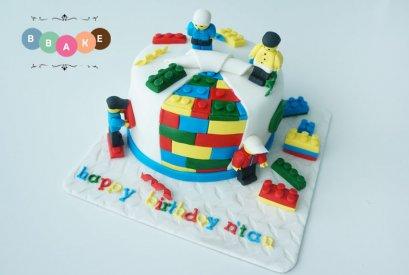 Basic Fondant Cute Cake