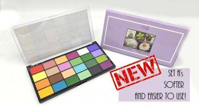 Petal Crafts Palette Wafer Dust Set matte color sets A