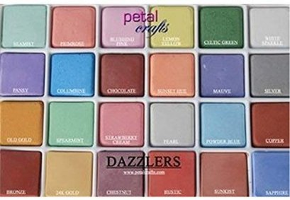 Petal Crafts Palette Wafer Dust Set Dazzlers Dust Set