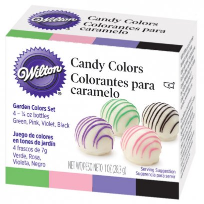 Wilton Candy Color Sets Garden (for Chocolate)