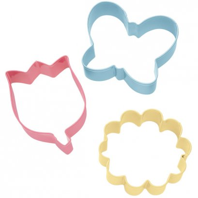 Wilton Flower Cookie Cutter, Set of 3