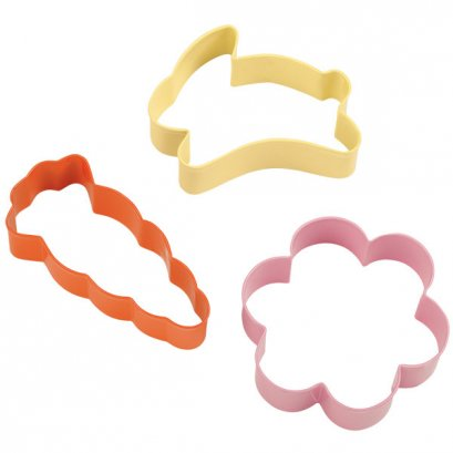Wilton 3 Pc Easter Cookie Cutter Set