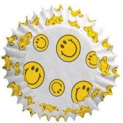 Wilton Baking Cups Smiley, 75 count