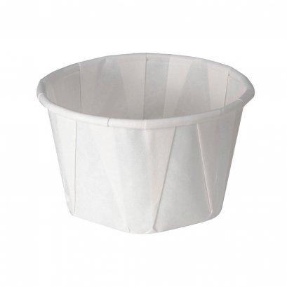 Portion Cup white paper souffle 3.25 oz.