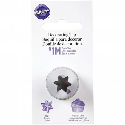 Wilton Decorating Tip, No.1M Star