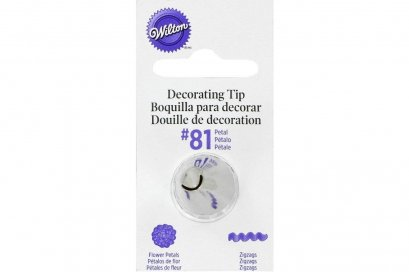 Wilton Decorating Tip 81 Chrysanthemum