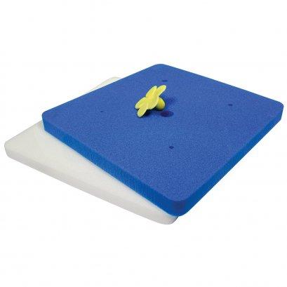 PME FPS574 Sugar Flower & Mexican Foam Pad Set 2-Sugar & Gumpaste Modelling, Standard, Blue