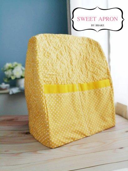 KitchenAid Cover Pro polka dot yellow