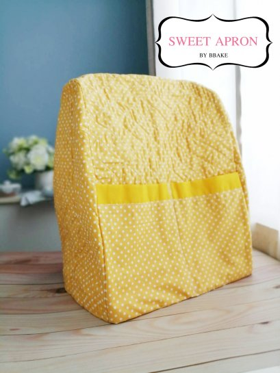 KitchenAid Cover Pro polka dot yellow