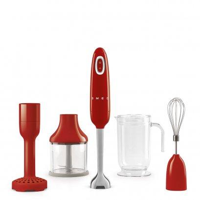 Red - Smeg 50s Style Hand Blender