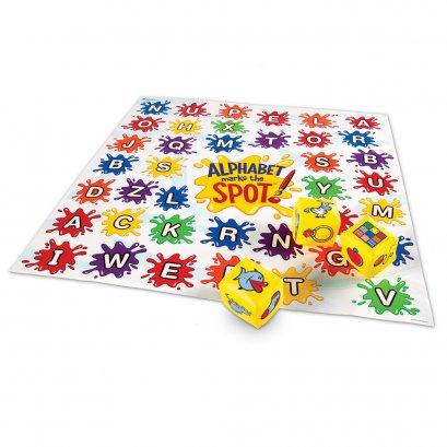 Alphabet Marks The Spot Floor Mat