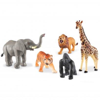 Jumbo Jungle Animals (Set of 5)