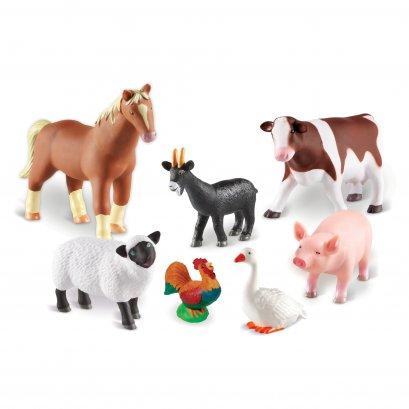 Jumbo Farm Animals (Set of 7)