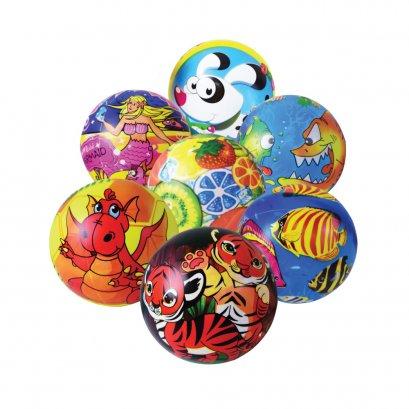 [ลดพิเศษ 60%] ชุดลูกบอลชายหาดลายการ์ตูน ขนาดเล็ก (6 นิ้ว) 7 ลูก