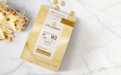 CALLEBAUT 28% Finest Belgian White Chocolate N ํW2