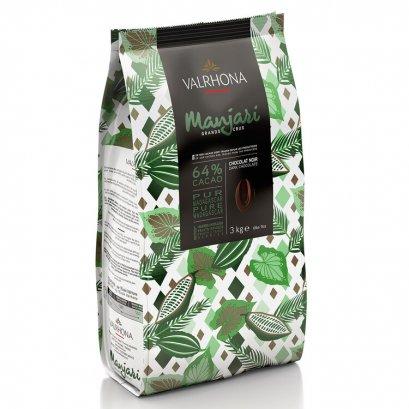VALRHONA MANJARI 64%  - Dark Chocolate