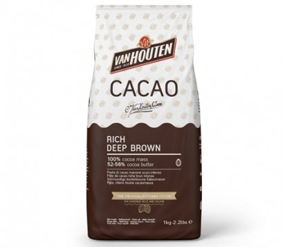 VANHOUTEN COCOA POWDER : RICH DEEP BROWN ** Keto คีโตทานได้ **