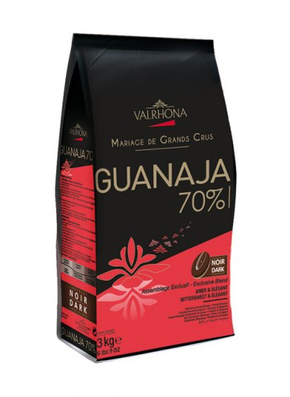 VALRHONA GUANAJA 70% - Dark Chocolate