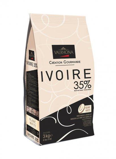 VALRHONA IVOIRE 35% - White Chocolate