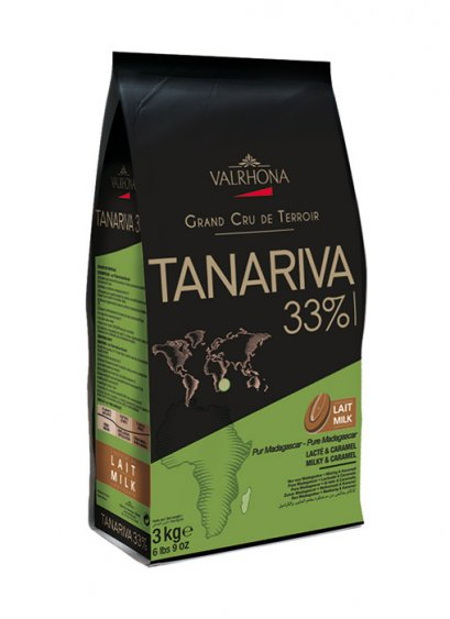 VALRHONA TANARIVA 33% - Milk Chocolate