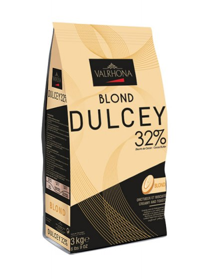 VALRHONA BLOND® DULCEY 32% - Blond Chocolate