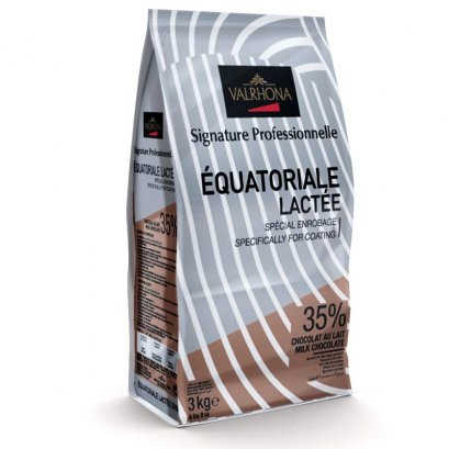 VALRHONA EQUATORIALE LACTEE 35% Milk Chocolate