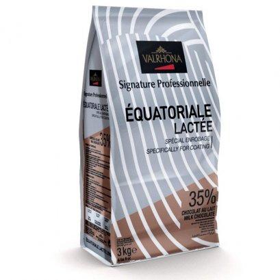 VALRHONA EQUATORIALE LACTEE 35% Milk Chocolate
