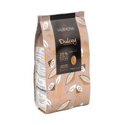 VALRHONA BLOND® DULCEY 35% - Blond Chocolate